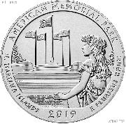 2019-W Northern Mariana Islands American Memorial Park Quarter GEM BU Great American Coin Hunt