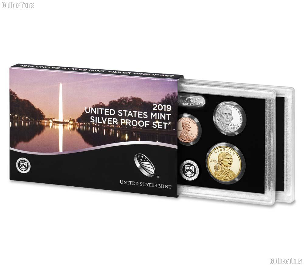 2019 SILVER PROOF SET * ORIGINAL * 10 Coin U.S. Mint Proof Set