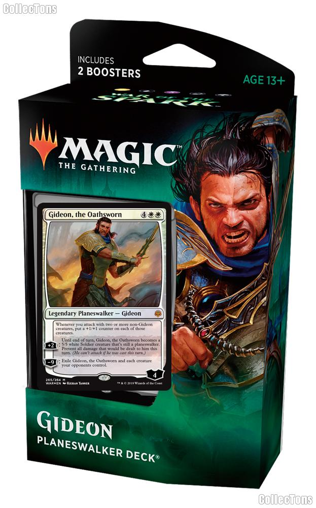 MTG War of the Spark: Magic the Gathering Planeswalker Deck: Gideon