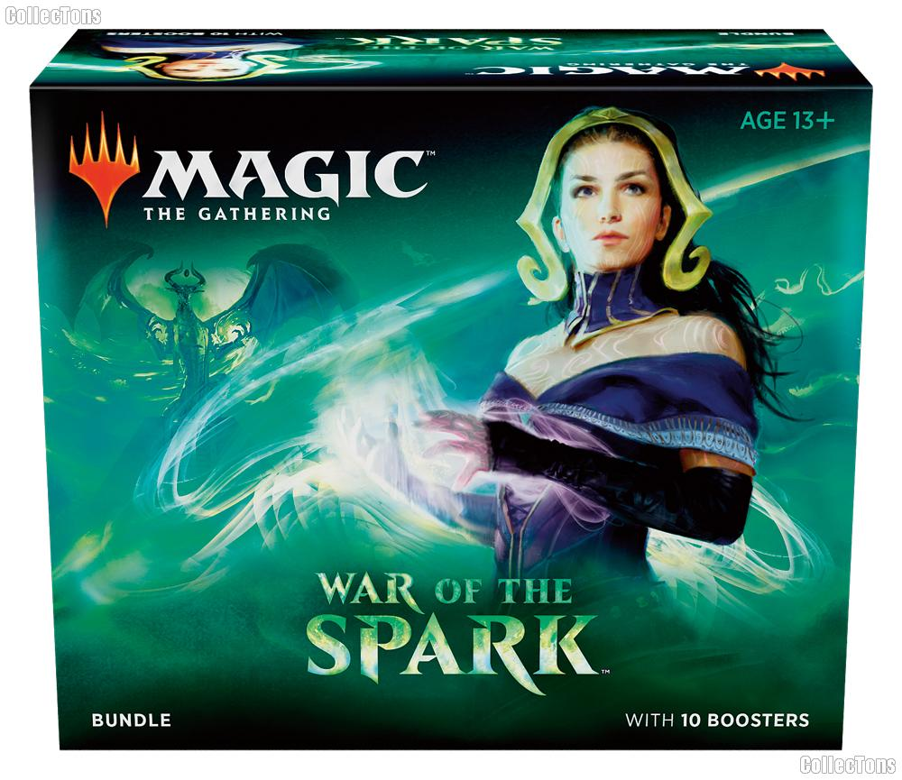 MTG - Magic the Gathering - War of the Spark Bundle