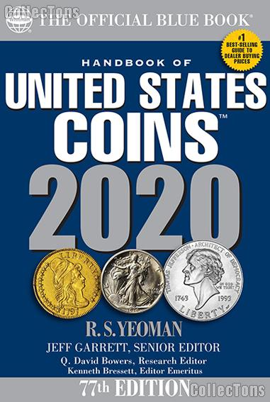 Whitman Blue Book United States Coins 2020 - Paperback