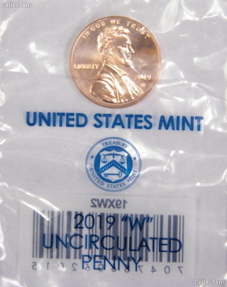 2019-W Lincoln Shield Cent * UNCIRCULATED Lincoln Union Shield Penny