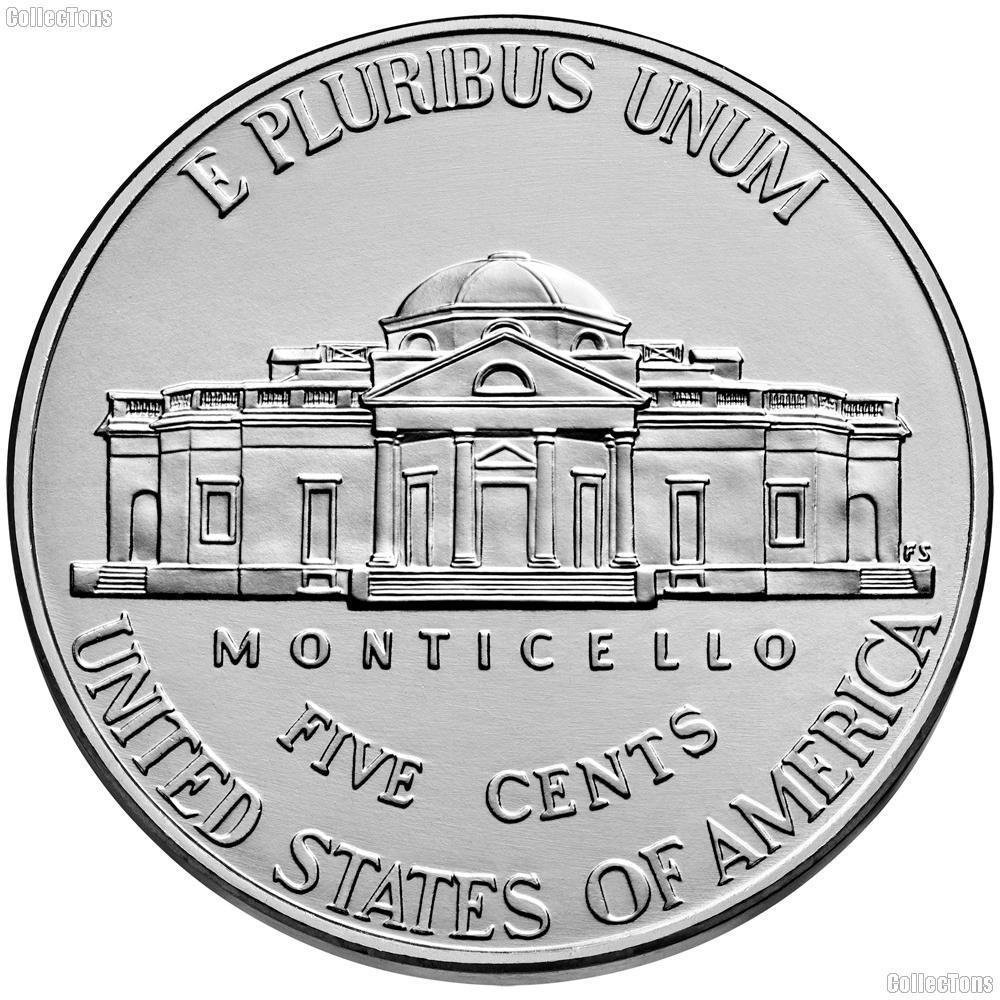 2019-D Jefferson Nickel Gem BU (Brilliant Uncirculated)