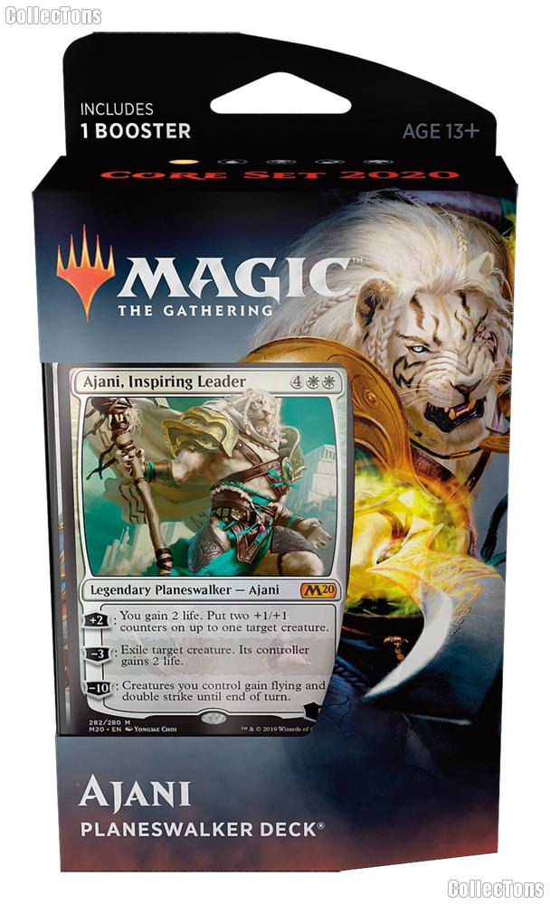 MTG Core Set 2020: Magic the Gathering Planeswalker Deck: Ajani