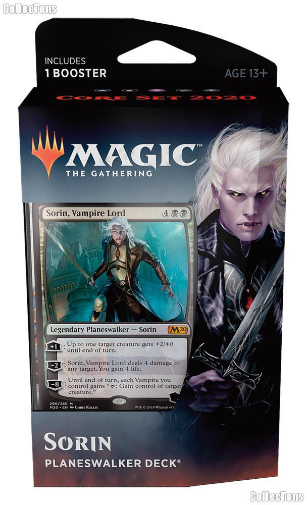 MTG Core Set 2020: Magic the Gathering Planeswalker Deck: Sorin