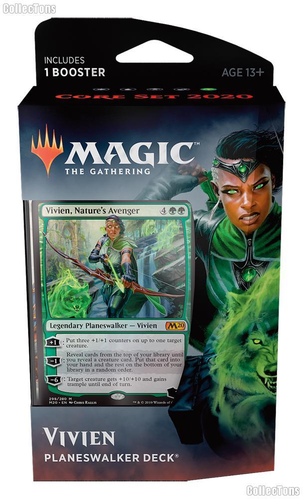 MTG Core Set 2020: Magic the Gathering Planeswalker Deck: Vivien