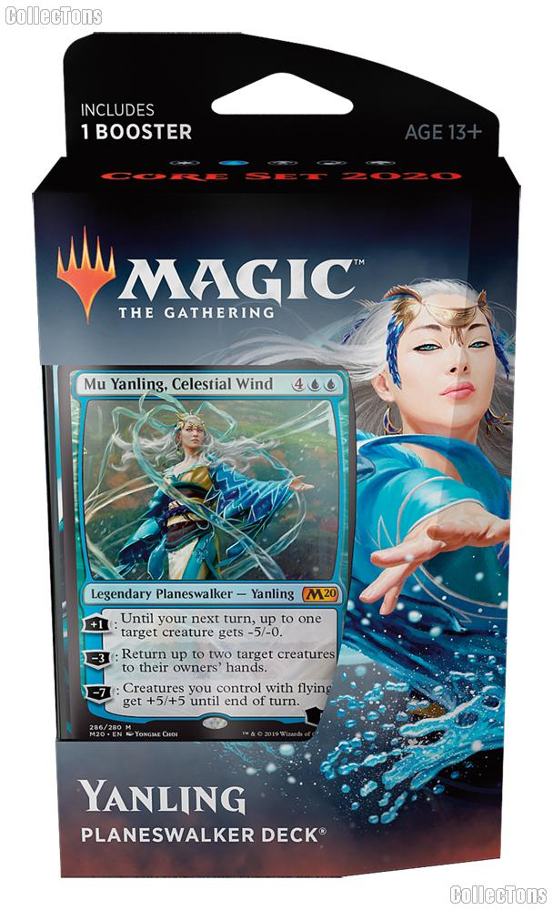 MTG Core Set 2020: Magic the Gathering Planeswalker Deck: Yanling
