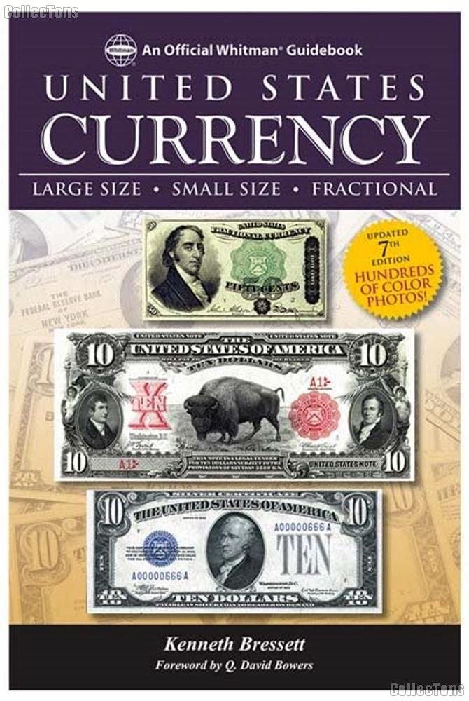 Whitman Guidebook to United States Currency 7th Edition - Bressett