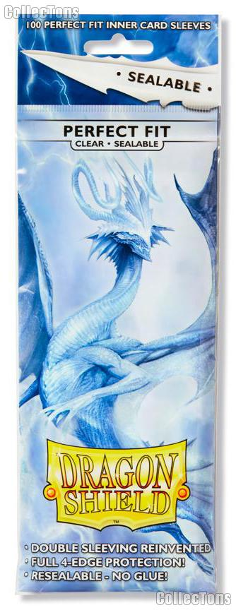 Dragon Shield PERFECT FIT SEALABLE Sleeves Pack of 100