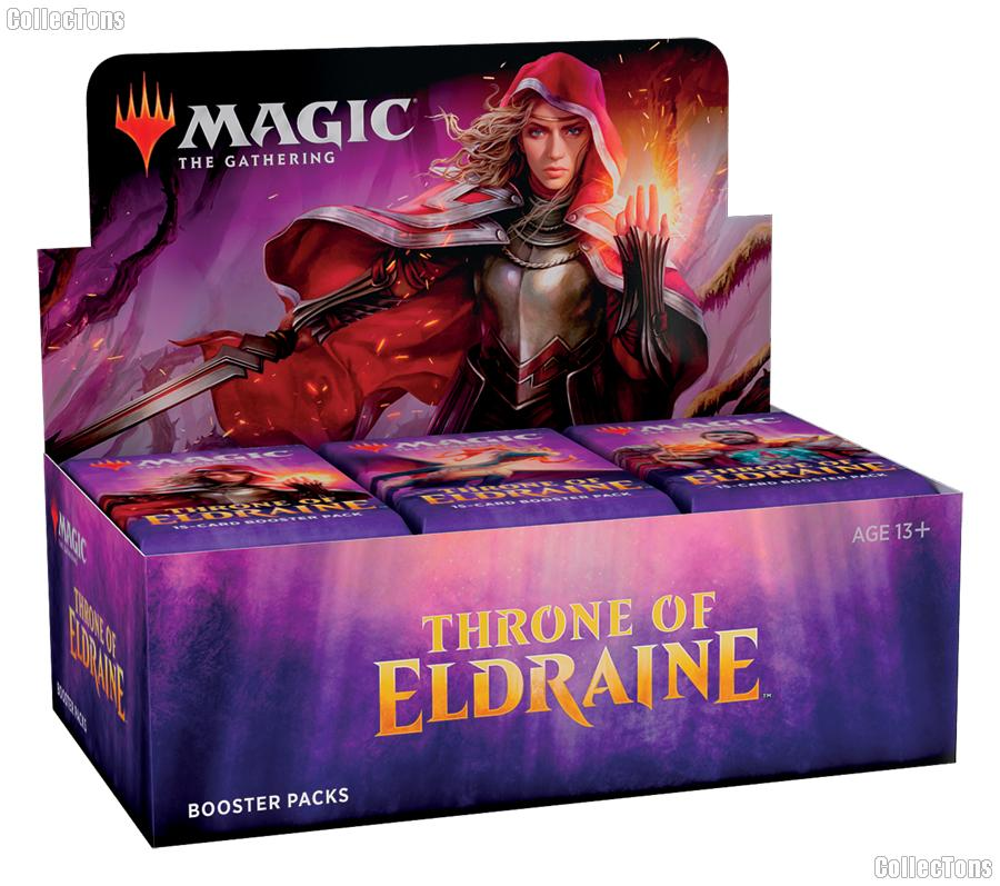MTG Throne of Eldraine - Magic the Gathering Booster Factory Sealed Box