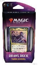 MTG Throne of Eldraine: Magic the Gathering Brawl Deck: Faerie Schemes