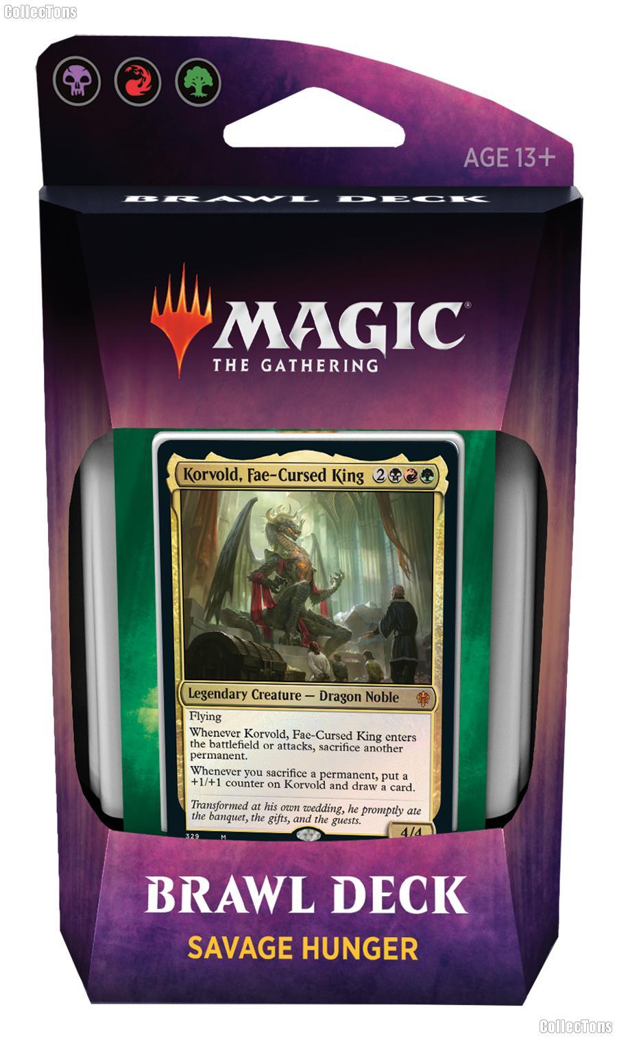 MTG Throne of Eldraine: Magic the Gathering Brawl Deck: Savage Hunter