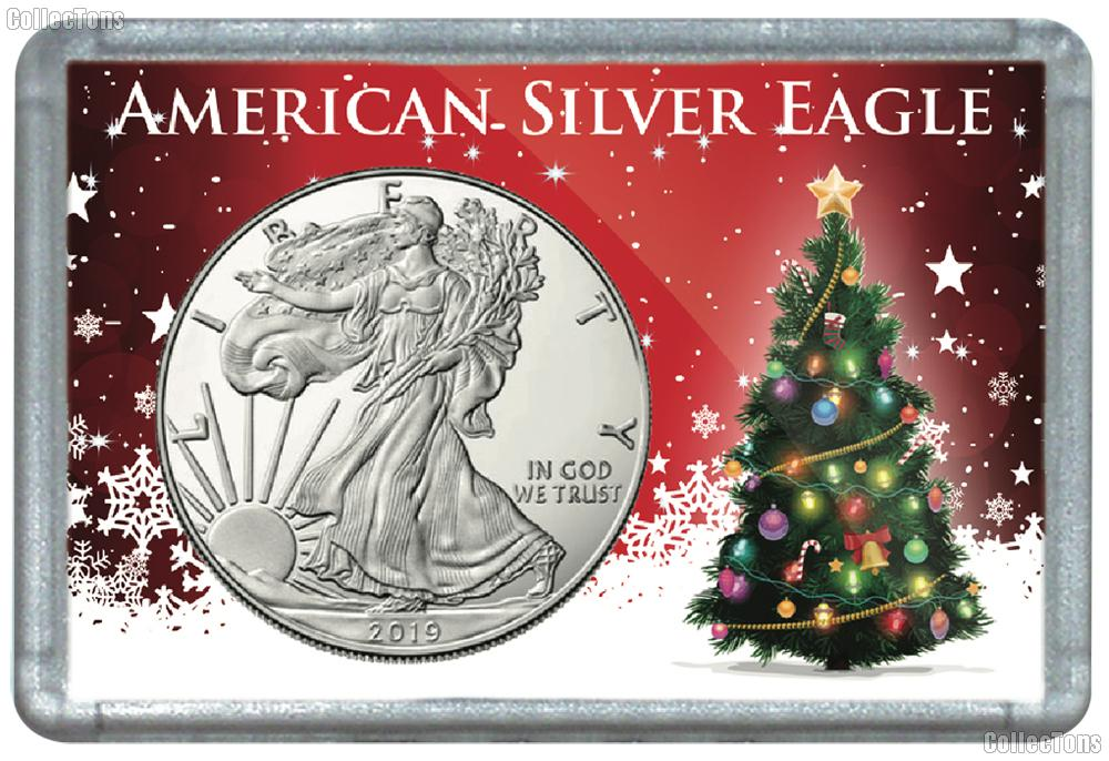 Harris 2x3 Christmas Tree Holder for American SILVER EAGLES
