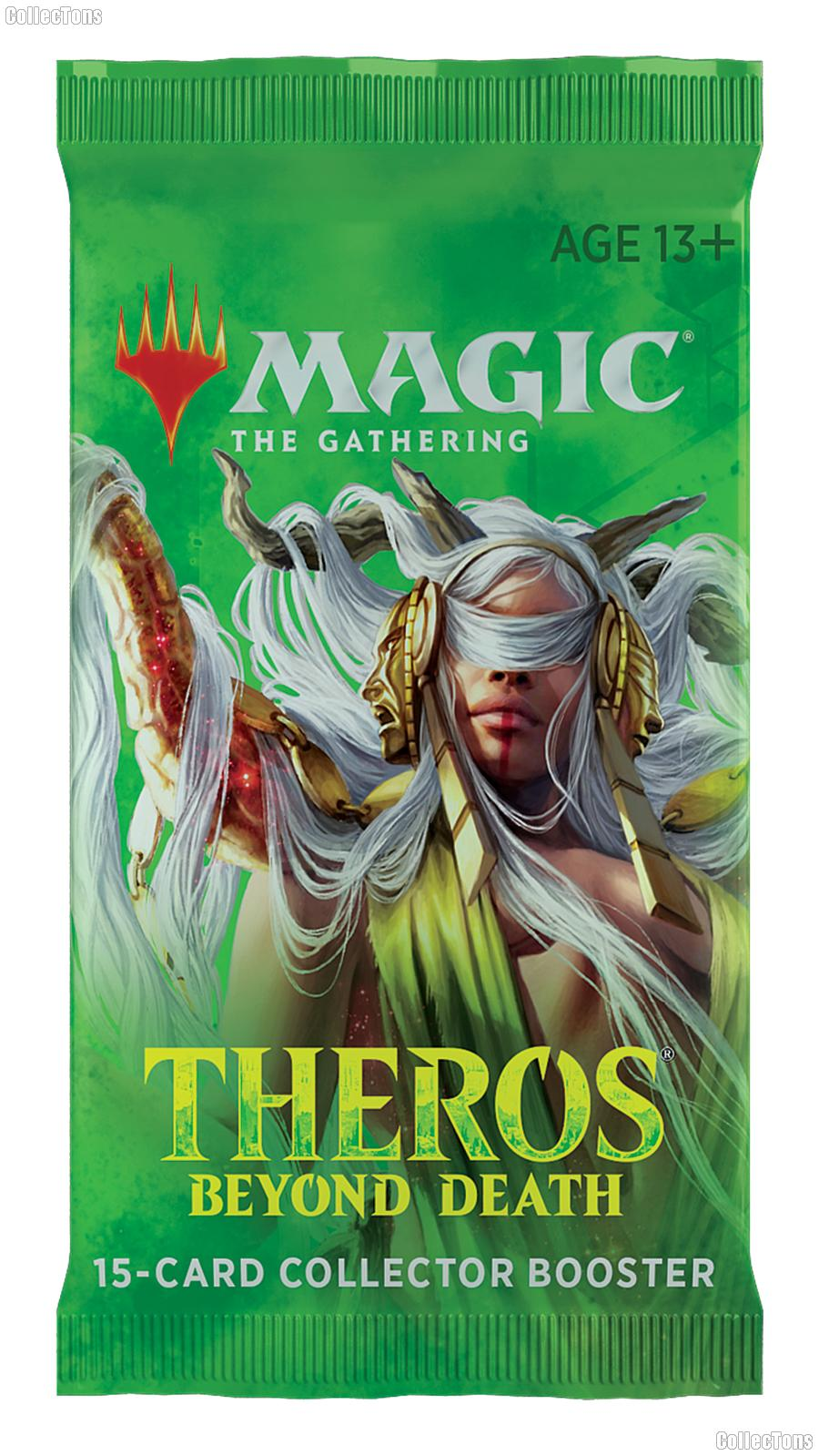 MTG Theros Beyond Death - Magic the Gathering COLLECTOR Booster Pack