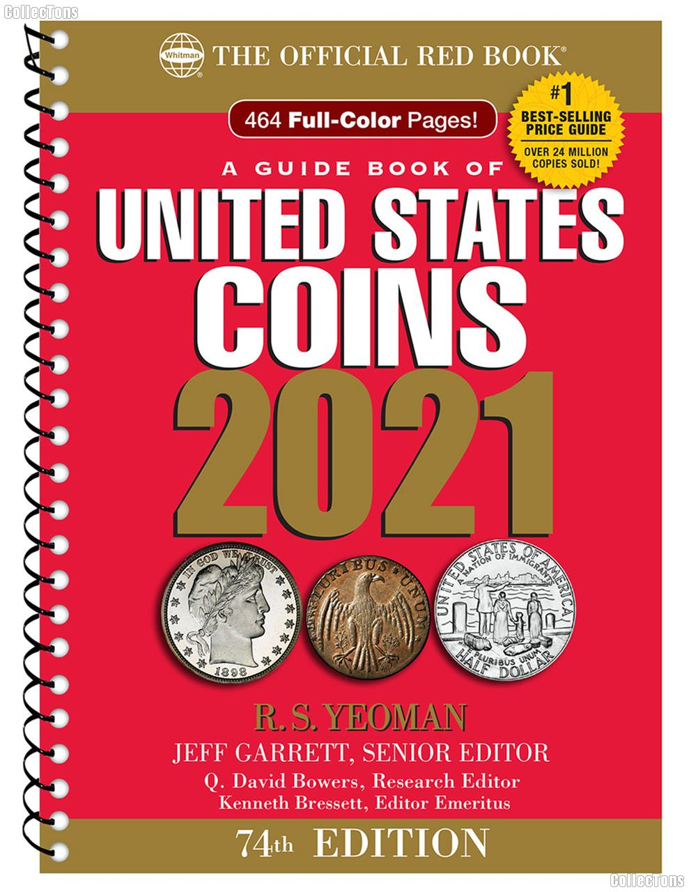 Whitman Red Book of United States Coins 2021 - Spiral