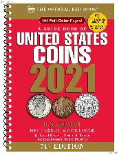 Whitman Red Book United States Coins 2021 Spiral $5.45