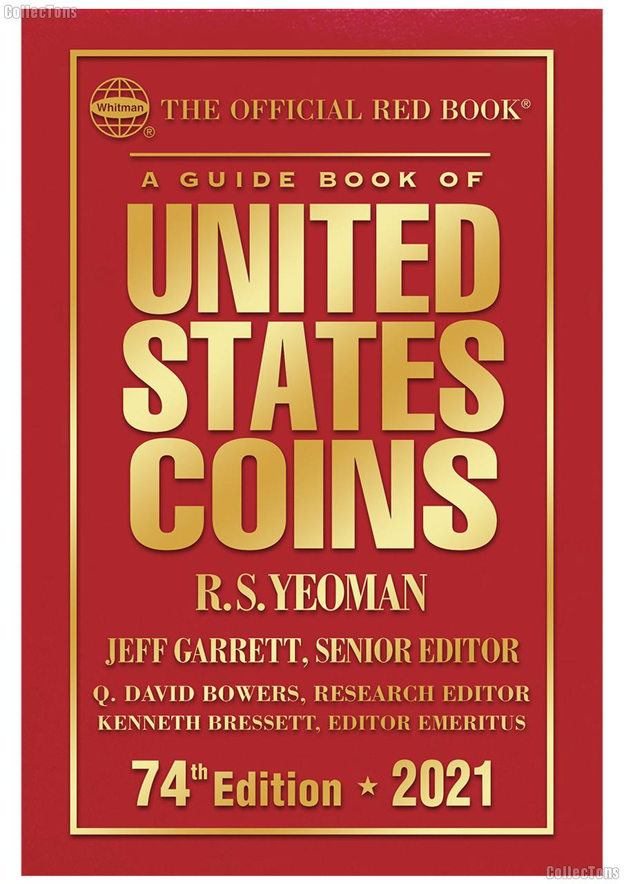 Whitman Red Book of United States Coins 2021 - Hard Cover
