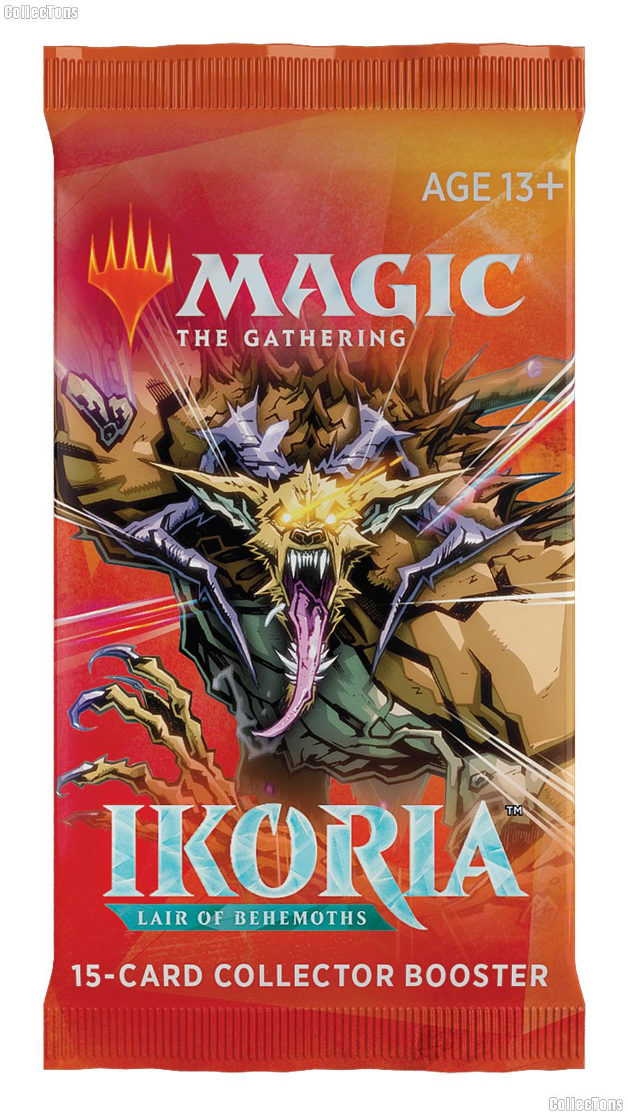 MTG Ikoria Lair of Behemoths - Magic the Gathering COLLECTOR Booster Pack