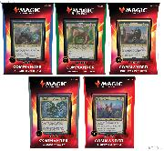 MTG Magic The Gathering COMMANDER 2020 Ikoria Set of 5 Decks - Factory Sealed