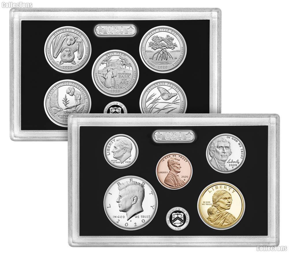 2020 SILVER PROOF SET * ORIGINAL * 10 Coin U.S. Mint Proof Set