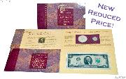 1993 Jefferson Coin & Currency Commemorative Set