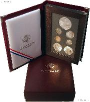1996 Prestige Proof Set - 7 Coins - The Key Set