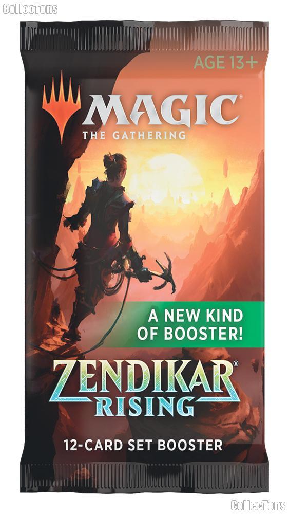 MTG Zendikar Rising - Magic the Gathering SET Booster Pack