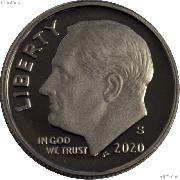 2020-S Roosevelt Dime SILVER PROOF 2020 Dime Silver Coin