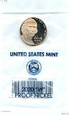 2020-W Jefferson Nickel SPECIAL PROOF Coin 2020 Special Proof Nickel Coin