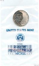 2020-W Jefferson Nickel SPECIAL REVERSE PROOF Coin 2020 Reverse Proof Nickel Coin