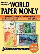 Krause Standard Catalog of World Paper Money Modern Issues 1961-Present, 25th Edition