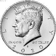 2020-D Kennedy Half Dollar GEM BU 2020 Kennedy Half