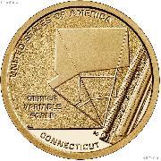 2020-S American Innovation Connecticut Dollar PROOF Coin 2020 Dollar