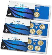 2018-S, 2019-S & 2020-S San Francisco American Innovation Dollar PROOF Sets with Box and COA