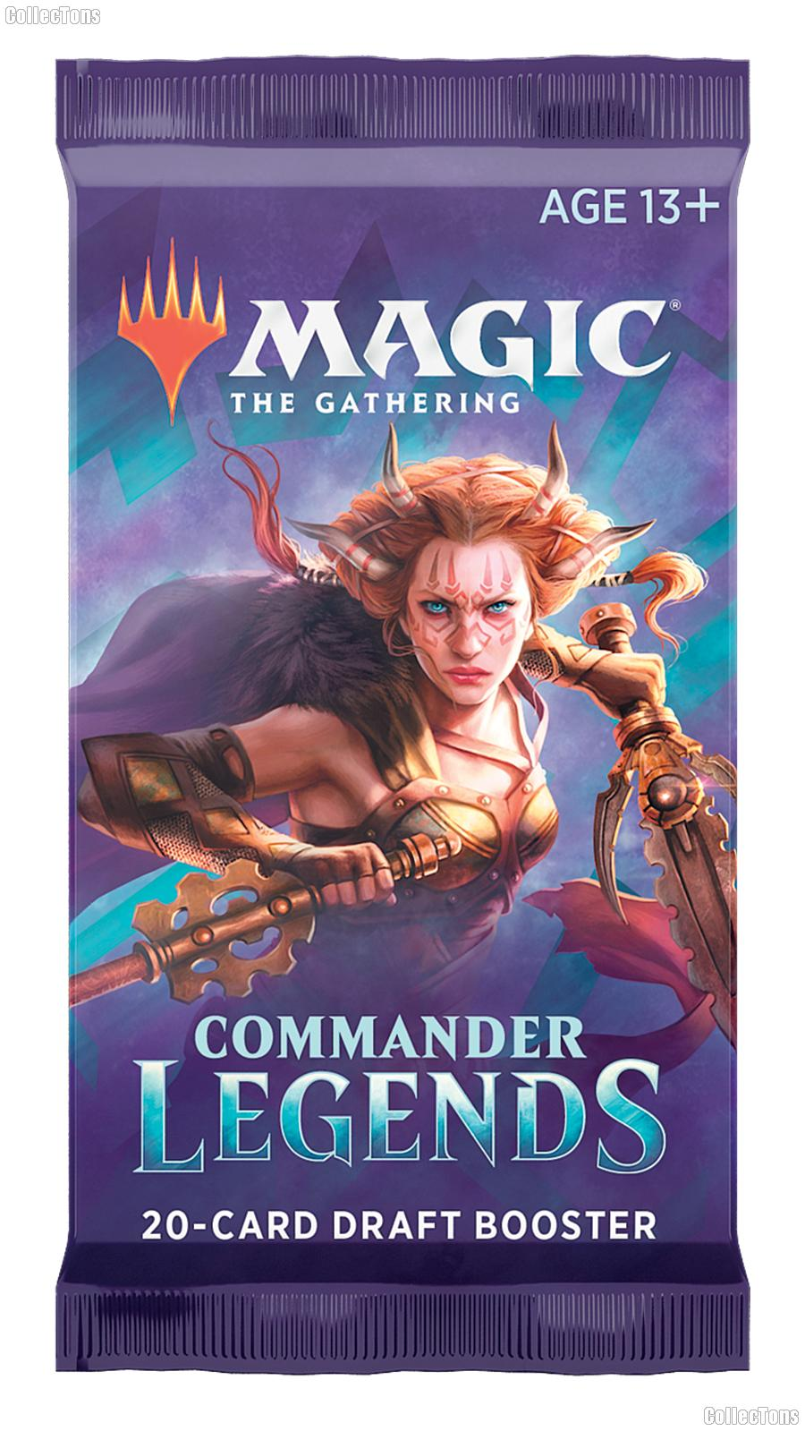 MTG Commander Legends - Magic the Gathering DRAFT Booster Pack