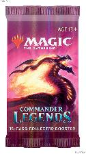 MTG Commander Legends - Magic the Gathering COLLECTOR Booster Pack