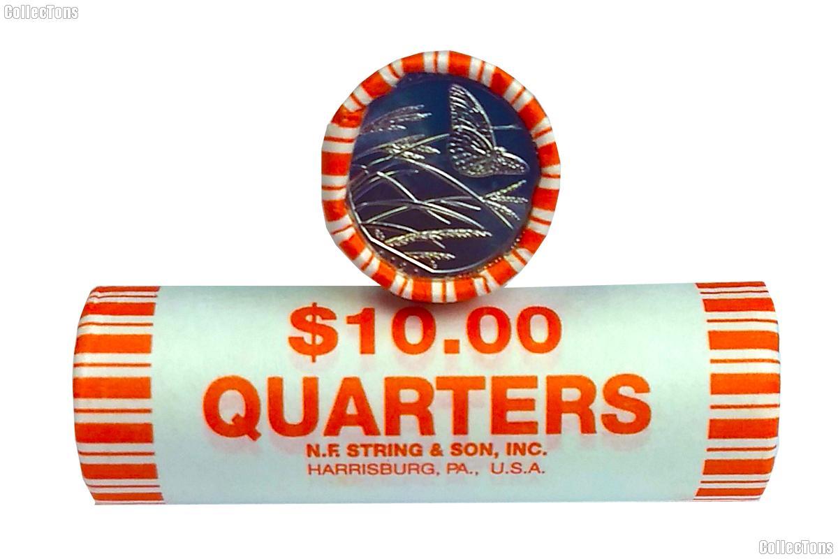 2020-D Kansas Tallgrass Prairie National Preserve Quarter Roll GEM BU America the Beautiful