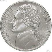 1994-P Jefferson Nickel with Matte Finish