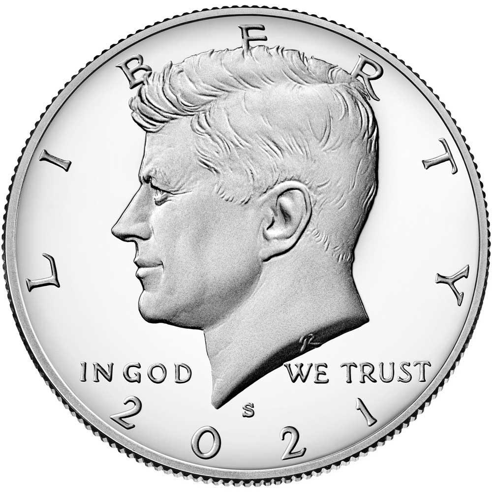 2021-S Kennedy Half Dollar * GEM PROOF 2021-S Kennedy Proof