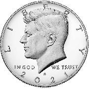 2021-S Kennedy Half Dollar * GEM PROOF 2021-S Kennedy Proof