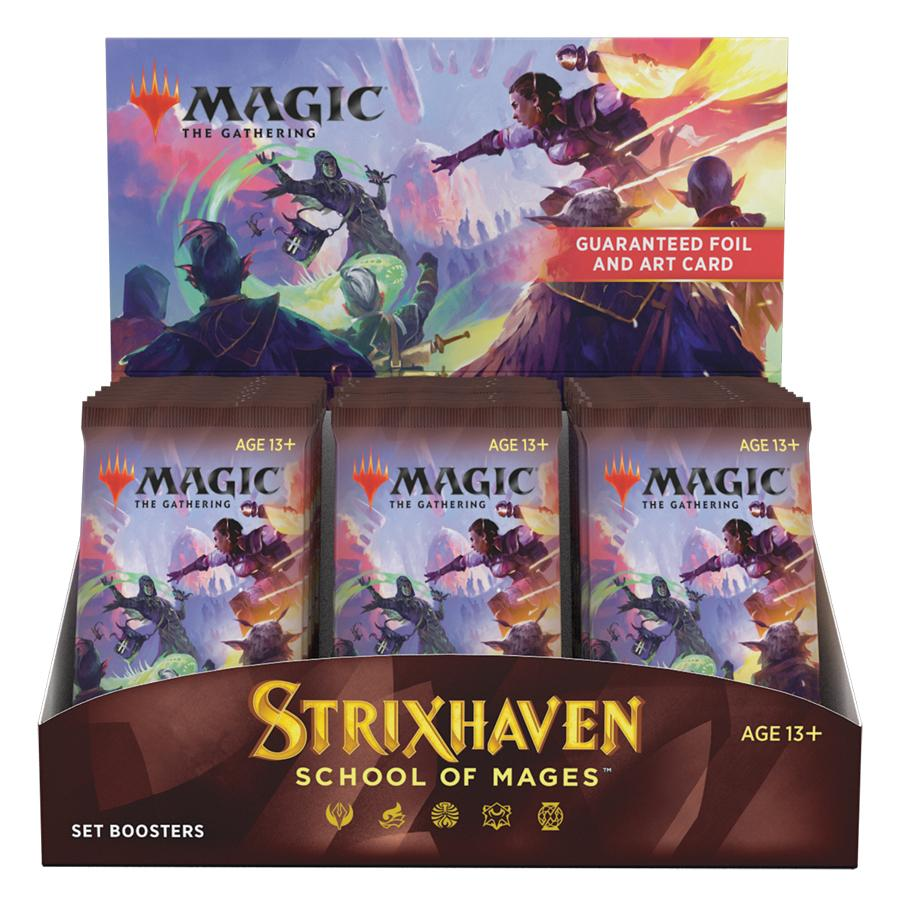 MTG Strixhaven School of Mages - Magic the Gathering SET Booster Factory Sealed Box