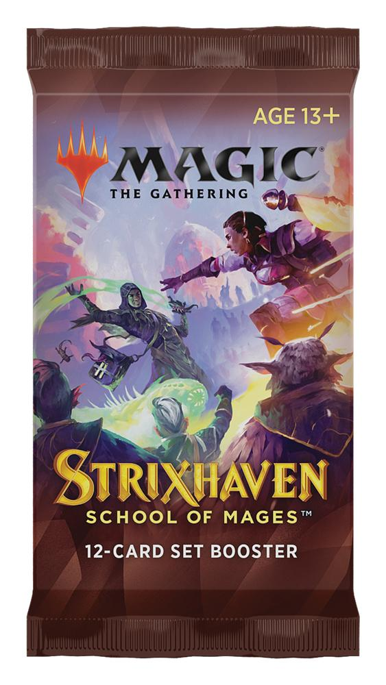MTG Strixhaven School of Mages - Magic the Gathering SET Booster Pack