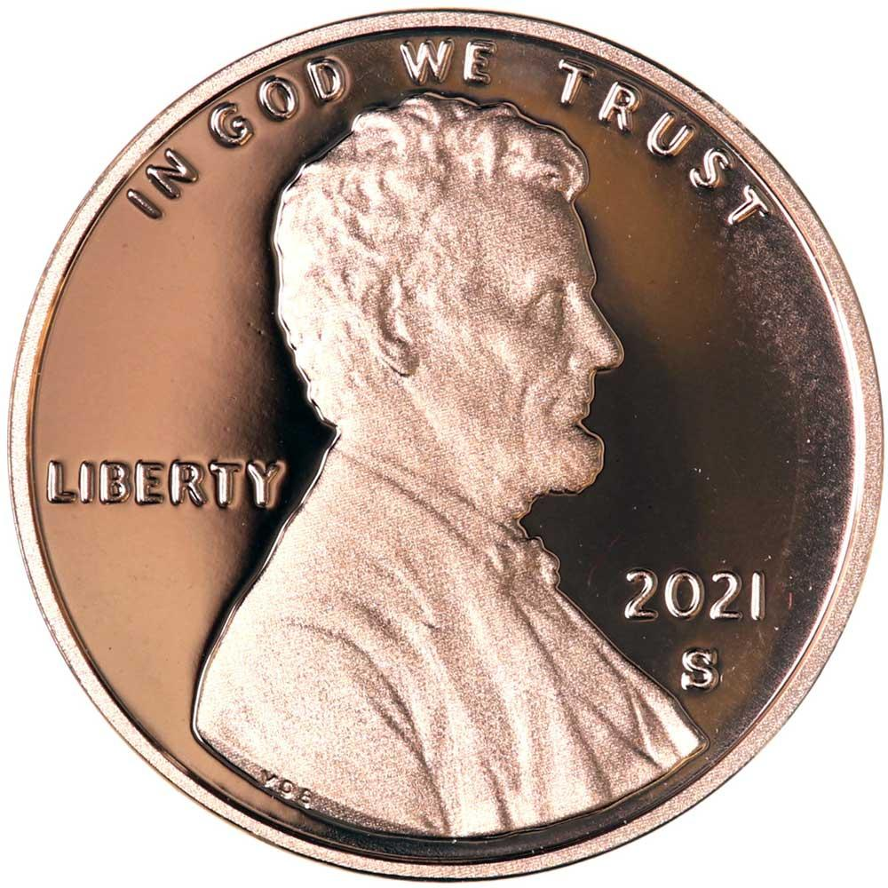 2021-S Lincoln Shield Cent * PROOF Lincoln Union Shield Penny