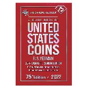 Whitman Red Book of United States Coins 2022 - 75th Anniversary Edition - Hard Cover