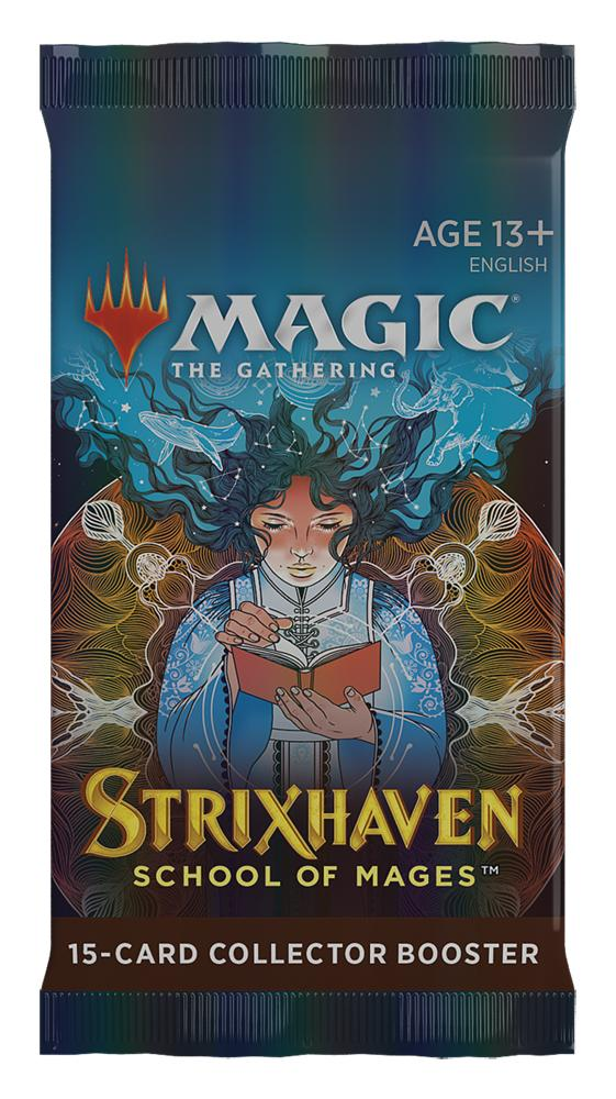 MTG Strixhaven - Magic the Gathering COLLECTOR Booster Pack