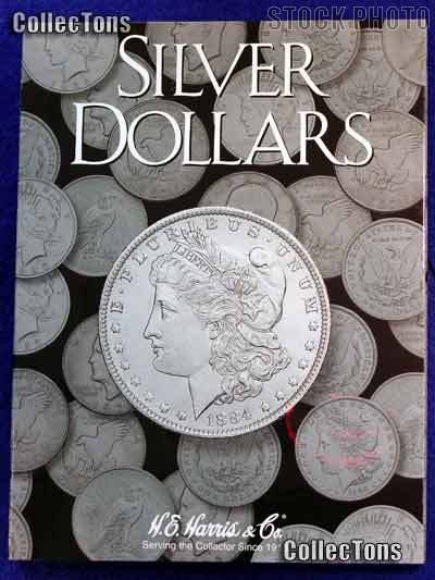 Harris Blank Coin Folder for U.S. Silver Dollars  2665