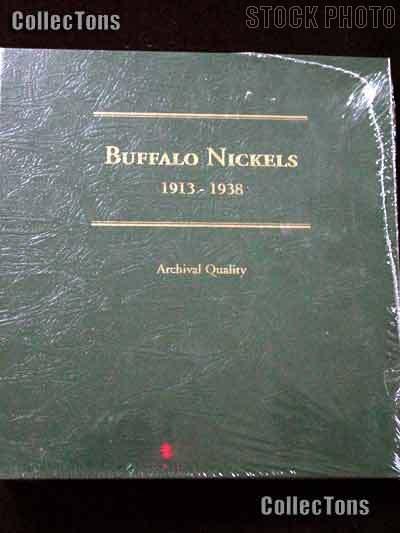 Littleton Buffalo Nickels 1913-1938 Album LCA22