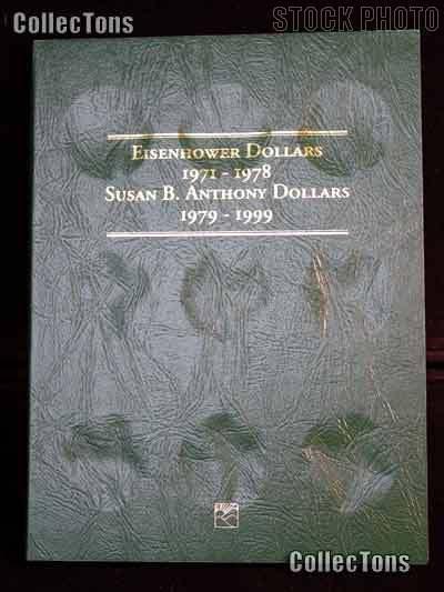 Littleton Eisenhower Ike & SBA Dollars Coin Folder LCF6
