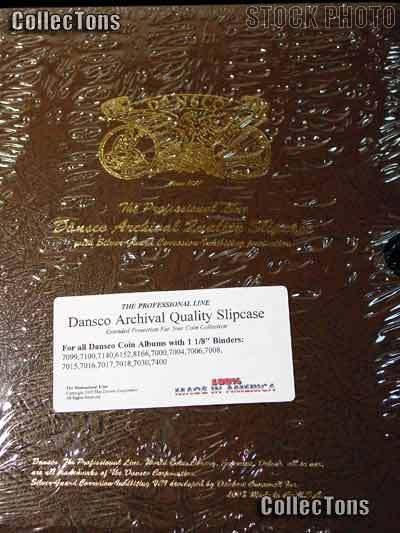 """Dansco Archival Sleeve Slipcase for 1-1/8"""" Binder Album"""