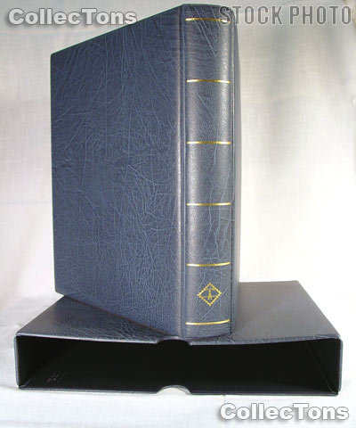 Lighthouse OPTIMA-F Binder and Slipcase in Blue